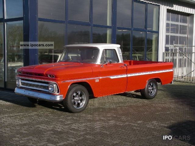 Chevrolet  C10 Custom Cab Pickup Longbed Fleetside 1966 Vintage, Classic and Old Cars photo