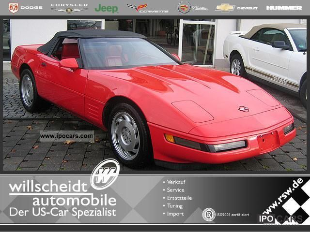 1994 Chevrolet  C4 Corvette LT1 Convertible 40th Edition Cabrio / roadster Used vehicle photo
