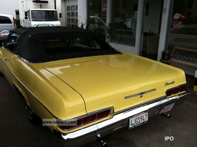 1966 chevrolet impala h german mark approval car photo and specs
