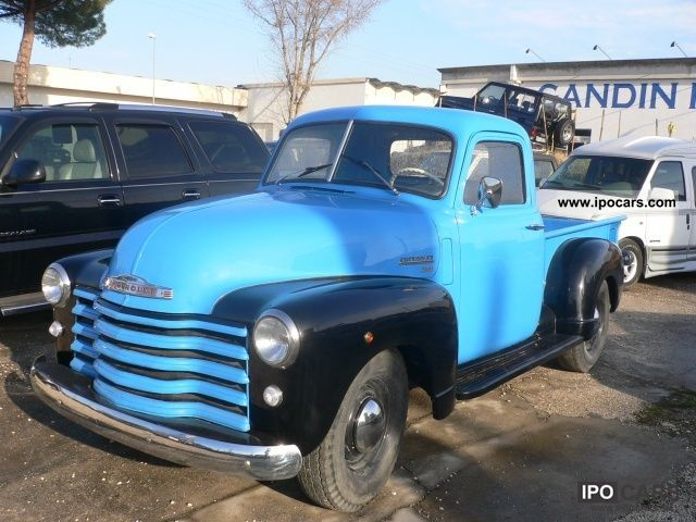 Chevrolet  Other PICK UP 3100 SERIES '50 1950 Vintage, Classic and Old Cars photo