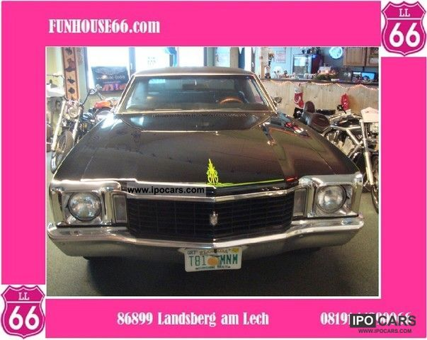 Chevrolet  Monte Carlo Muscle Car Legend, Pinstripe 1972 Vintage, Classic and Old Cars photo