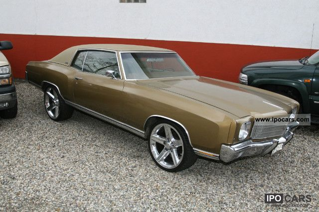 Chevrolet  Monte Carlo Musclecar 1970 Vintage, Classic and Old Cars photo