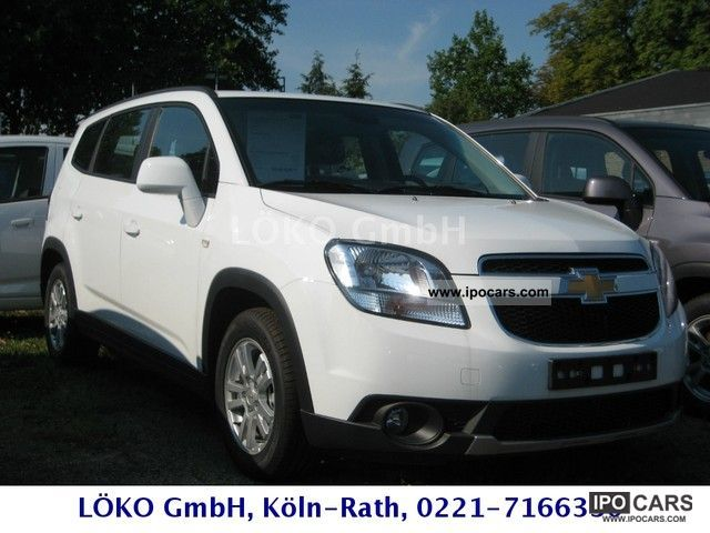 2012 Chevrolet  Orlando 2.0 LTZ AT Van / Minibus Pre-Registration photo
