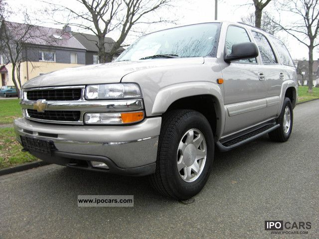 2005 Chevrolet  Tahoe LT Premium 1.Hand, only 38 TKM, Like new! Off-road Vehicle/Pickup Truck Used vehicle photo