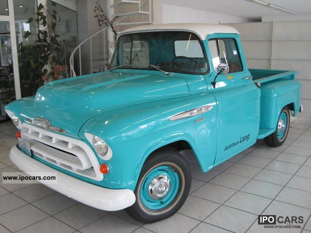 Chevrolet  3100 Parish 1957 Vintage, Classic and Old Cars photo