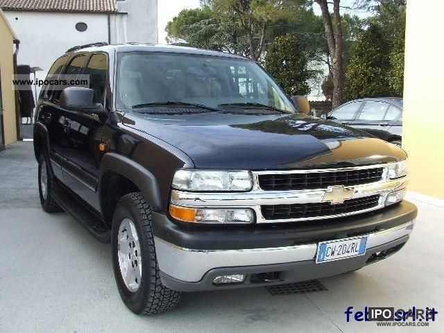 Chevrolet  TAHOE LT 5.3 V8 Premium - GPL - 7 POSTI - FULL O 2005 Liquefied Petroleum Gas Cars (LPG, GPL, propane) photo