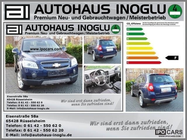 2011 Chevrolet  Captiva 2.0 LT D 7 - seater Exclusive 4WD, leather, S Off-road Vehicle/Pickup Truck New vehicle photo