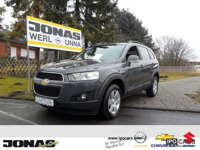 2012 Chevrolet  2WD Captiva 2.4 LT month. for only 238, - € Off-road Vehicle/Pickup Truck Pre-Registration photo