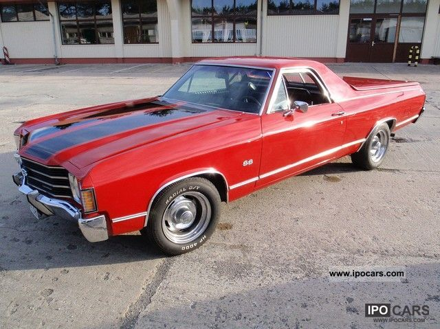 1972 Chevrolet El Camino Car Photo And Specs
