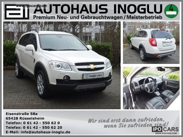 2011 Chevrolet  Captiva 2.0 LT D Exclusive7Sitzer Aut.4WD, leather, Off-road Vehicle/Pickup Truck Employee's Car photo