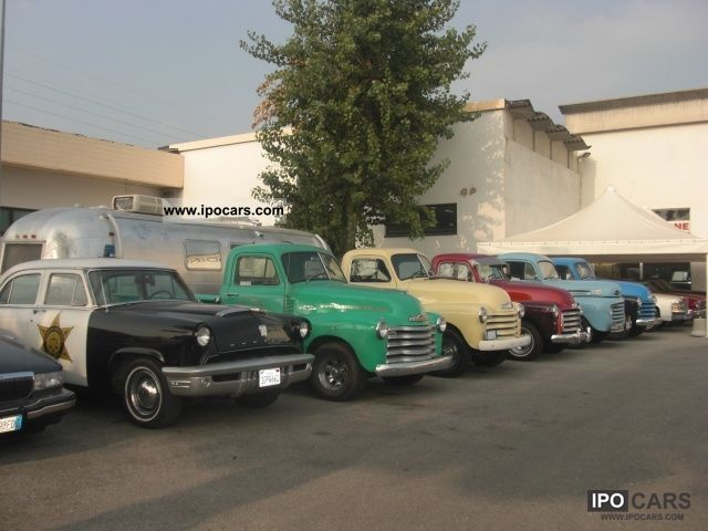 Chevrolet  Other PICK UP 3800 '53 1953 Vintage, Classic and Old Cars photo