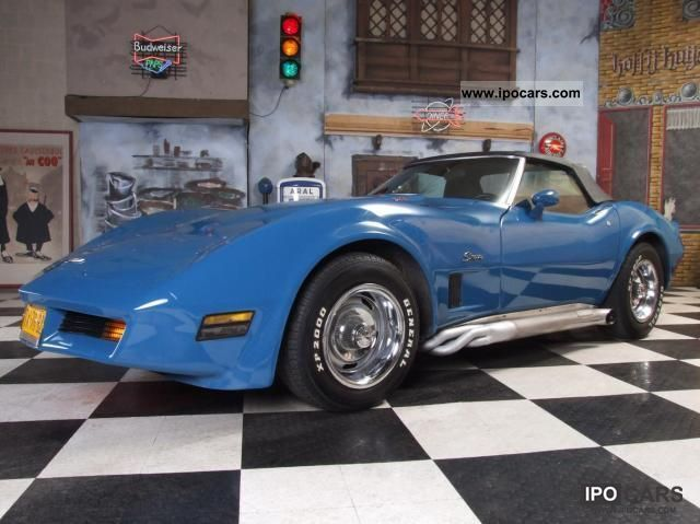 Chevrolet  Corvette C3 Convertible nl brief 1974 Vintage, Classic and Old Cars photo