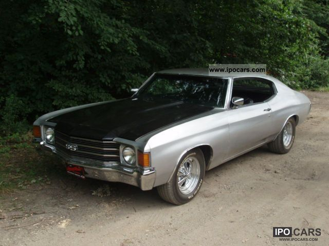 Chevrolet  Chevelle 454SS, MONSTER & REALLY LOW PRICED 450HP! 1972 Vintage, Classic and Old Cars photo