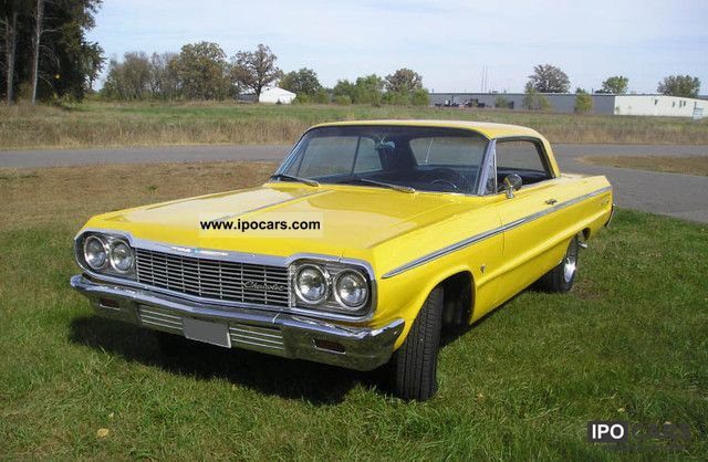 Chevrolet  Impala SS original state 1964 Vintage, Classic and Old Cars photo