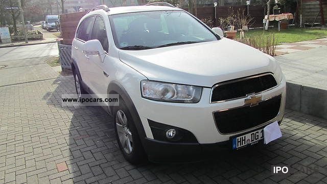 2012 Chevrolet  Captiva 2.4 LT 4x4 7-SEATS / NAVI / BACK Off-road Vehicle/Pickup Truck Used vehicle photo