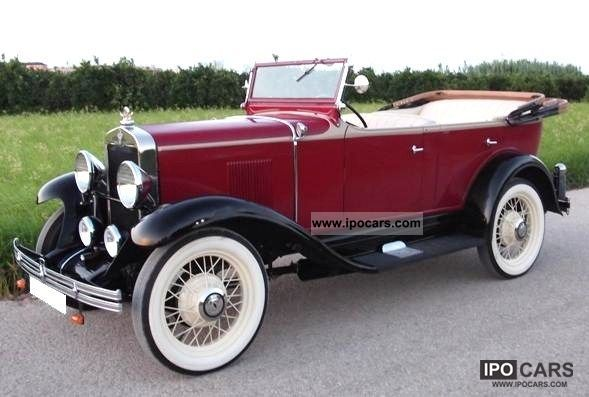 Chevrolet  1929 CHEVROLET INTERNATIONAL AC 1929 Vintage, Classic and Old Cars photo