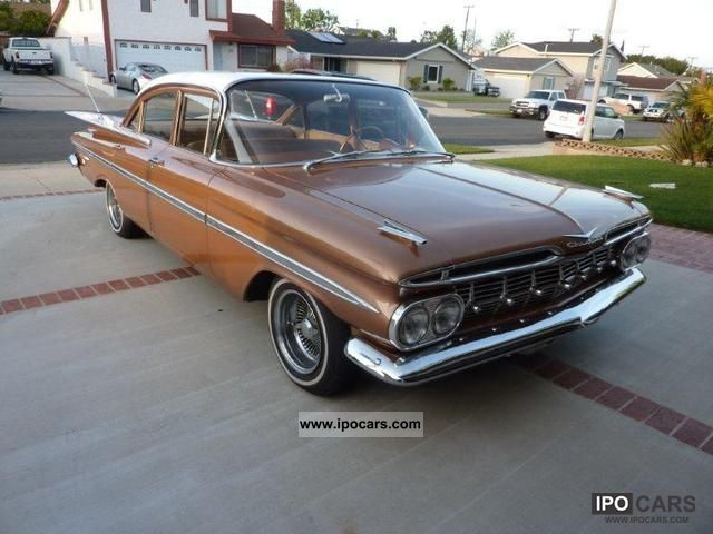 1959 Chevrolet  1959 Impala Bel Air V8 Limousine Classic Vehicle photo