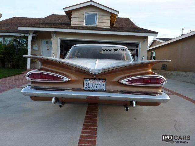 1959 Chevrolet 1959 Impala Bel Air V8 Limousine Classic Vehicle photo ...