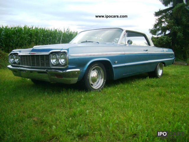 Chevrolet  Impala SS, 283cui, 4-speed, H-approval 1964 Vintage, Classic and Old Cars photo