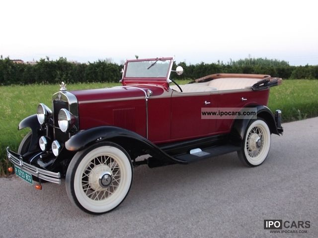 Chevrolet  1929 CHEVROLET Alero INTERNATIONAL AC 1929 Vintage, Classic and Old Cars photo