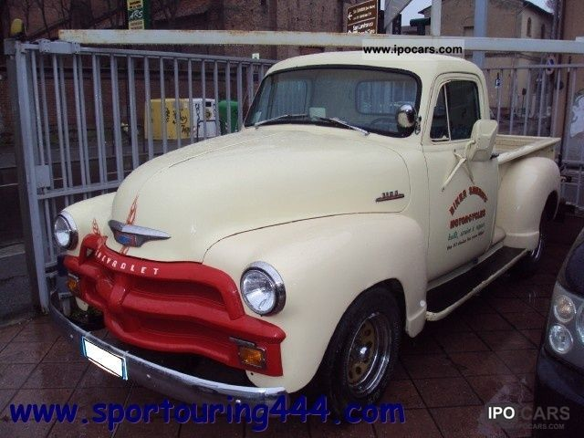 Chevrolet  Chevy Van 3100 CHEVY PICK UP 1954 Vintage, Classic and Old Cars photo