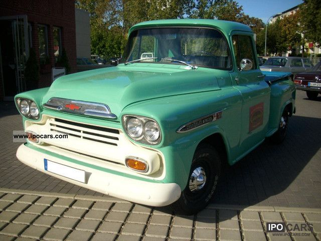 1959 Chevrolet  Apache 31 Pick-Up restored eingetr.Gasanlage Off-road Vehicle/Pickup Truck Classic Vehicle photo