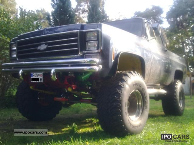1977 Chevrolet  Monster Truck / Big Foot with H-approval Off-road Vehicle/Pickup Truck Used vehicle photo