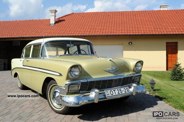 Chevrolet  Bel Air V8 Sedan 1956 Vintage, Classic and Old Cars photo