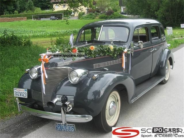 Chevrolet  Master Deluxe Sedan 1939 1939 Vintage, Classic and Old Cars photo