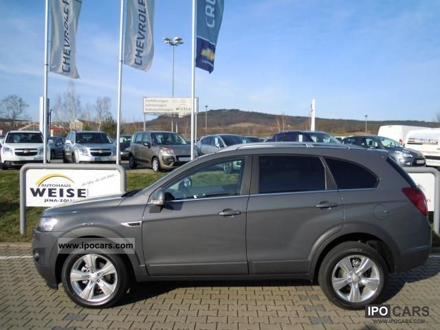 2012 Chevrolet  Captiva 2.2 Diesel 4WD Auto LT + Off-road Vehicle/Pickup Truck Demonstration Vehicle photo