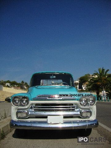 Chevrolet  Apache Fleetside 1959 Vintage, Classic and Old Cars photo