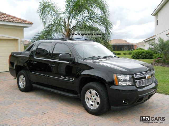 2007 chevrolet avalanche 5 3 l v8 4x4 4wd leather. Black Bedroom Furniture Sets. Home Design Ideas