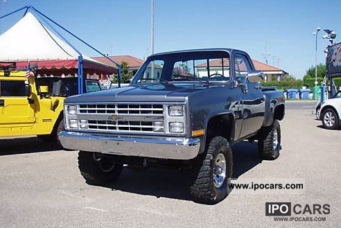 1980 Chevrolet  1980 CHEVROLET PICK-UP SIDE SPORT 5.7 V8 4X4 Off-road Vehicle/Pickup Truck Classic Vehicle photo