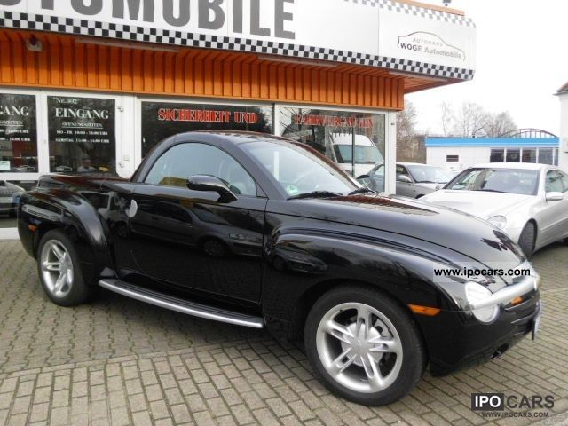 2003 Chevrolet Ssr Suv Pickup Convertible Leather