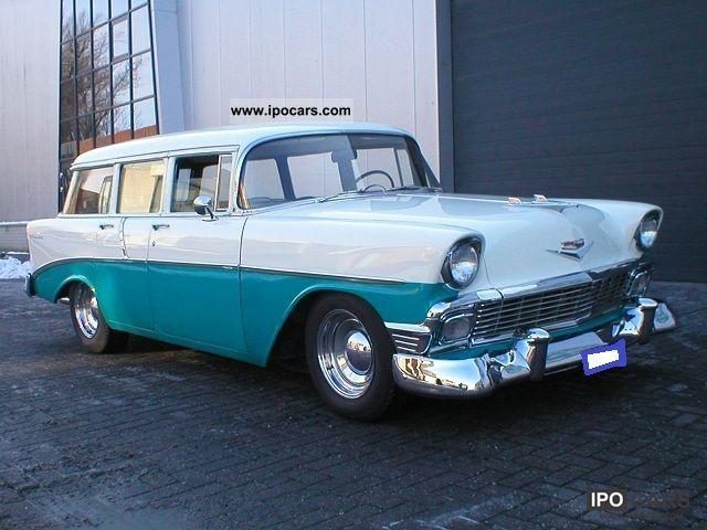 1956 Chevrolet  BEL AIR BelAir wagon Estate Car Classic Vehicle photo
