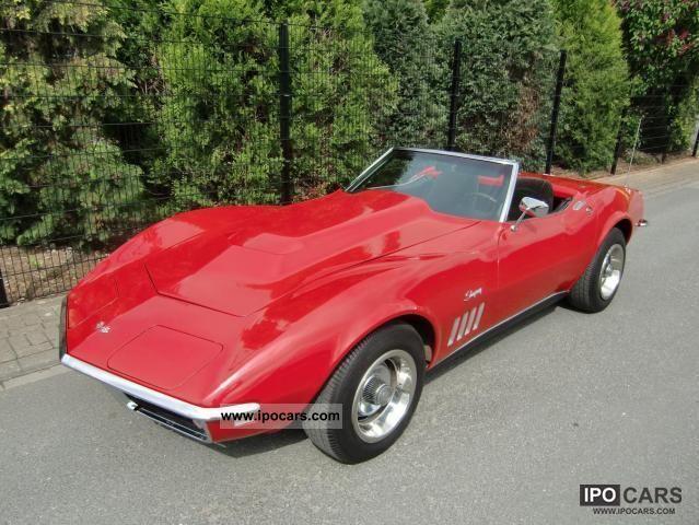 1968 Chevrolet  C3 Corvette convertible Cabrio / roadster Classic Vehicle photo