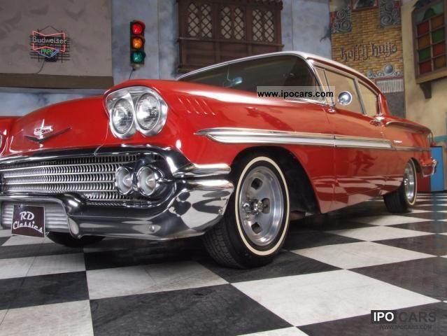 1958 Chevrolet  Bel Air / Impala Big Block Sports car/Coupe Classic Vehicle photo