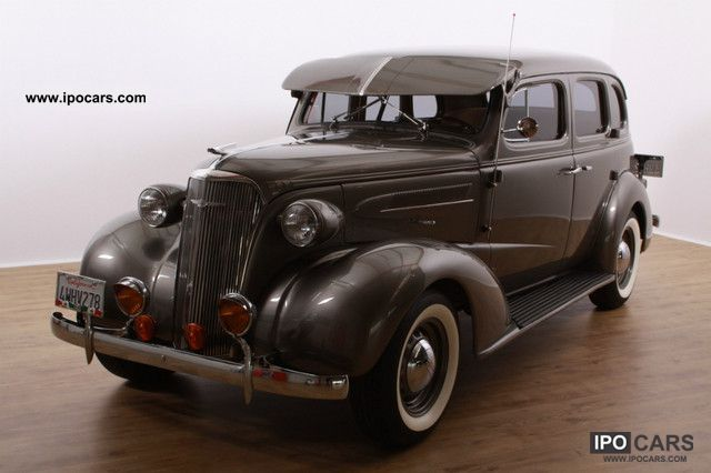 1937 Chevrolet  Master DeLuxe Saloon * suicide doors! * Limousine Classic Vehicle photo