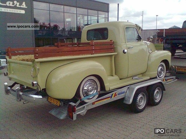 Chevrolet  Pick-up 2.9 1953 Vintage, Classic and Old Cars photo