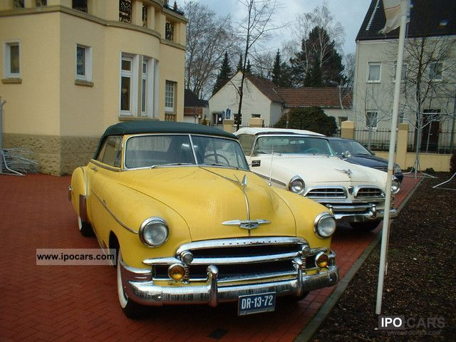 Chevrolet  Bel Air Convertible state very selten.Guter. 1950 Vintage, Classic and Old Cars photo