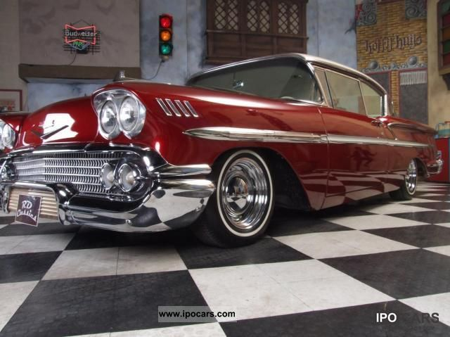 1958 Chevrolet  Bel Air / Impala Sports car/Coupe Classic Vehicle photo