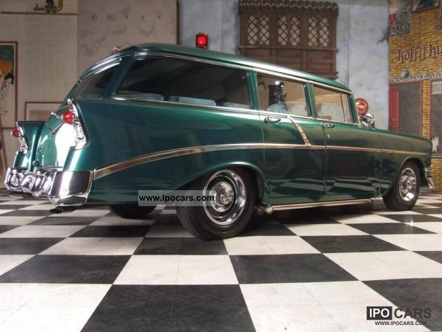 1956 Chevrolet  Bel Air wagon / Impala Estate Car Classic Vehicle photo