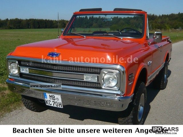 Chevrolet  K5 Blazer CST full convertible, 4x4, 2.Hd! Rarity! H-Perm. 1970 Vintage, Classic and Old Cars photo