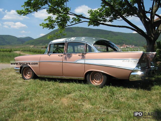 Chevrolet  Bel Air 57 1957 Vintage, Classic and Old Cars photo