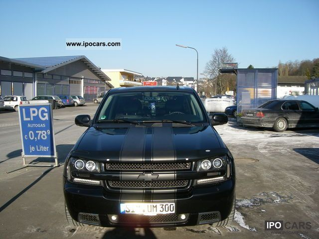 2007 Chevrolet Trailblazer Lpg Gasoline Car Photo And Specs