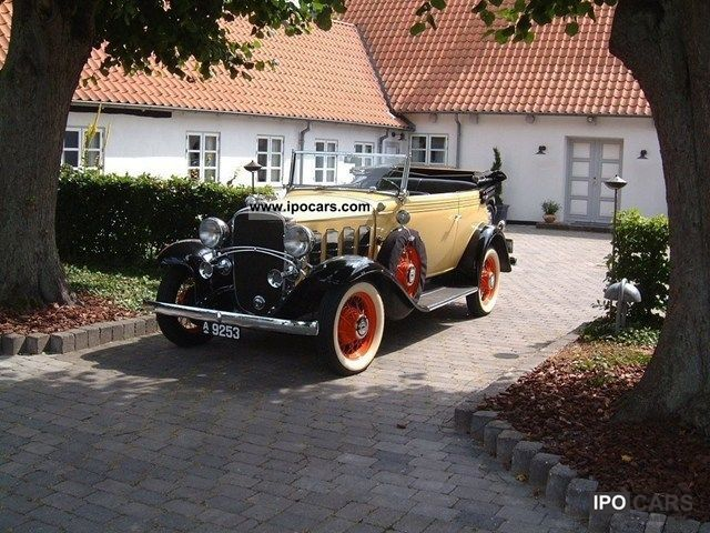 Chevrolet  Landau Phaeton 3.2 Cabriolet 1932 Vintage, Classic and Old Cars photo