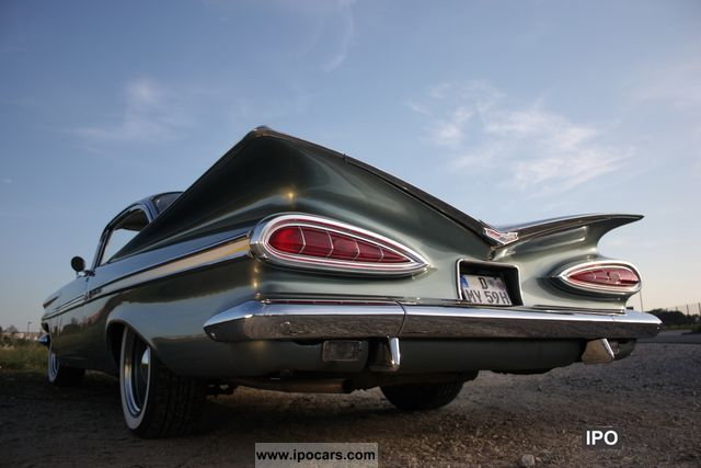 Chevrolet  Coupe, 30 years of family ownership, european design 1959 Vintage, Classic and Old Cars photo