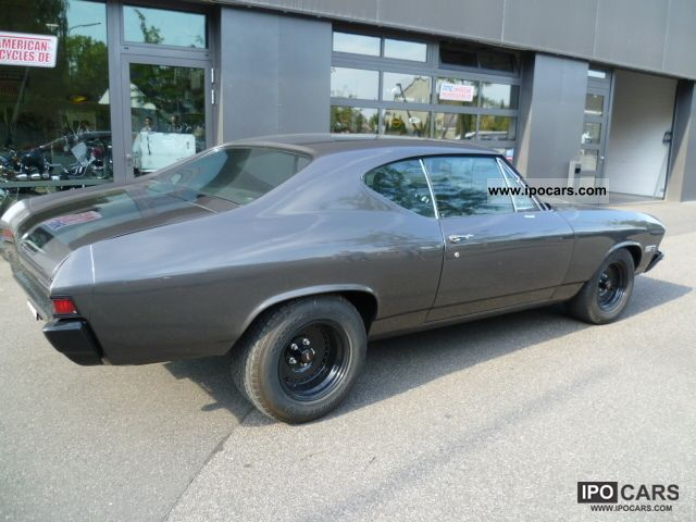 1968 Chevrolet  Chevelle, H-plates, gas plant Sports car/Coupe Used vehicle photo