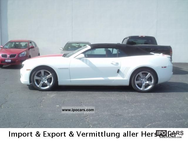 2012 Chevrolet  2012 Camaro 6.2 L 2SS/RS, T1 BRHV.41.900 USD Cabrio / roadster Used vehicle photo