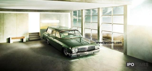 Chevrolet  Biscayne Station Wagon 1962 Vintage, Classic and Old Cars photo